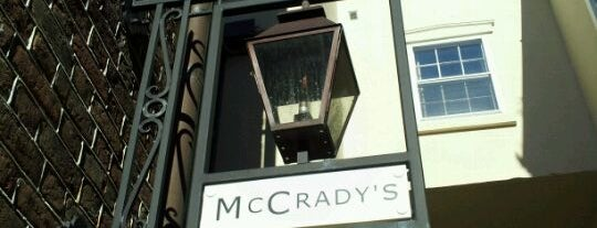 McCrady's is one of Best Places to Check out in United States Pt 8.