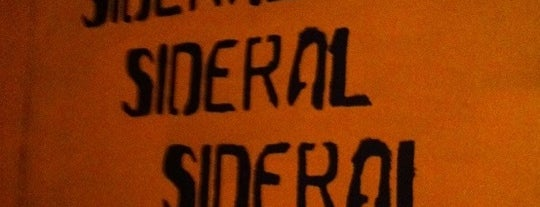 Sideral is one of Salir por Madrid.