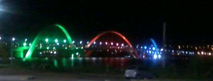 Ponte JK is one of Brasília.