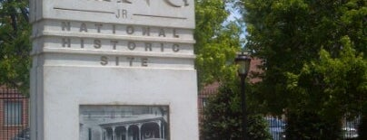 Dr Martin Luther King Jr National Historic Site is one of Atlanta's Best Museums - 2012.