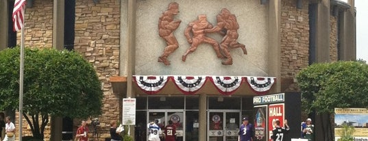 Pro Football Hall of Fame is one of Best Places to Check out in United States Pt 3.