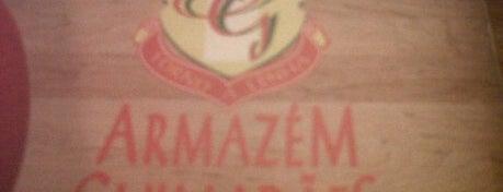 Armazém Guimarães is one of Pizzarias.