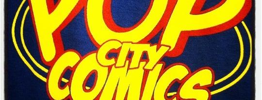 Pop City Comics is one of Orlando Comic Book Shops.