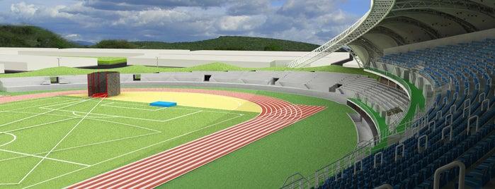 Estadio TELMEX de Atletismo is one of Instalaciones / Venues.