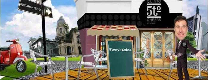 5to. Cheers Cafe is one of Restaurantes, Bares, Cafeterias y el Mundo Gourmet.