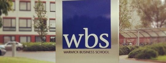 Warwick Business School is one of University of Warwick.