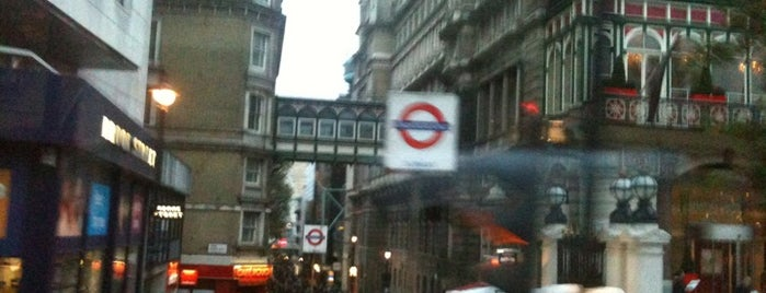 Charing Cross Railway Station (CHX) is one of Train stations.