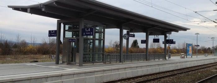 Bahnhof Murnau am Staffelsee is one of DB ICE-Bahnhöfe.