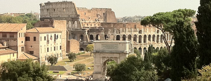 Roman Forum is one of Europe 2013.