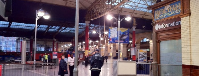 Manchester Victoria Railway Station (MCV) is one of Railway Stations in UK.