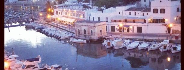 Port de Ciutadella is one of Menorca.