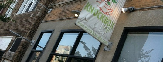 Knockbox Cafe is one of Chicago's best coffee spots!.