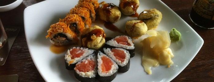 Osaki is one of Top 10 dinner spots in Bogotá, Colombia.