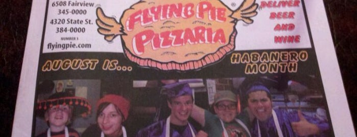Flying Pie Pizzaria is one of College of Idaho.