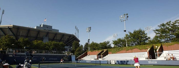 Court 10 - USTA Billie Jean King National Tennis Center is one of US Open Courts.
