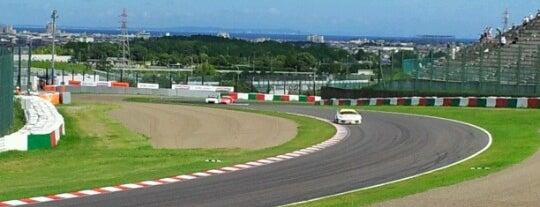 鈴鹿サーキット 逆バンク is one of 鈴鹿サーキット 国際レーシングコース.