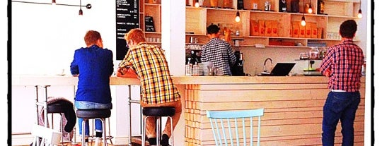 Djäkne Kaffebar is one of Coffee to drink in CNW Europe.