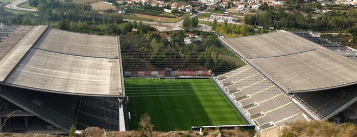 Estádio Municipal de Braga is one of Европа.
