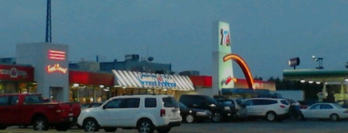 TravelCenters of America is one of Diary of the Open Road Checkpoints.