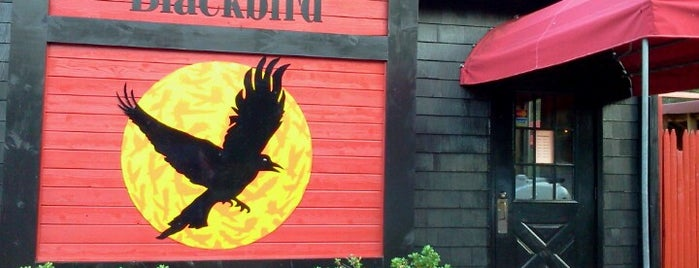 Blackbird Tavern is one of Places to eat.