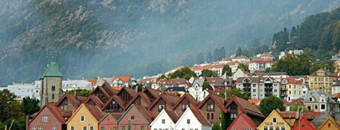 Bergen is one of UNESCO World Heritage Sites.