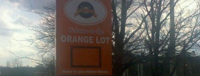 Turner Field - Orange Lot is one of The 4sqLoveStory.