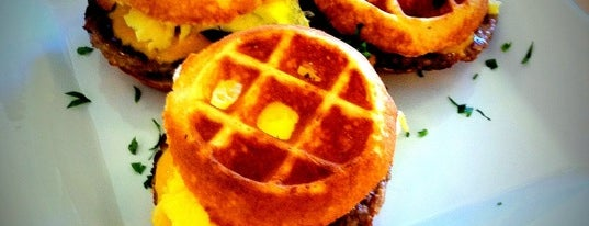 Bru's Wiffle - A Waffle Joint is one of LA Food to try.