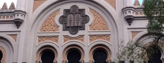 Španělská synagoga is one of Historická Praha.