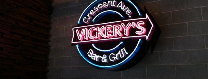 Vickery's is one of Top 10 dinner spots in Atlanta, GA.