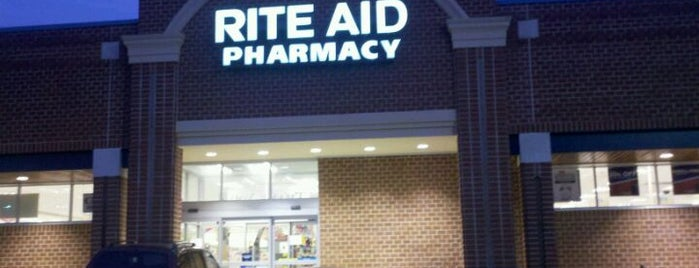 Rite Aid is one of Frequent Stops.