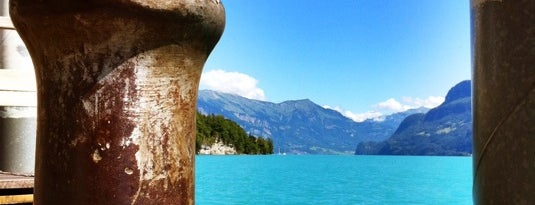 Brienzersee is one of My Switzerland Trip'11.