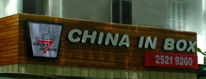 China in Box is one of Rio - Restaurantes.