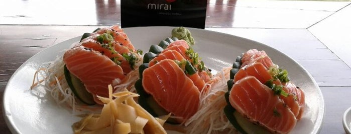 Mirai is one of Coxinha ao Caviar.