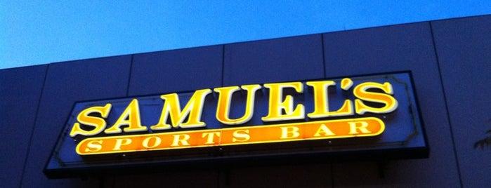 Samuel's Sports Bar & Tavern is one of 20 favorite restaurants.