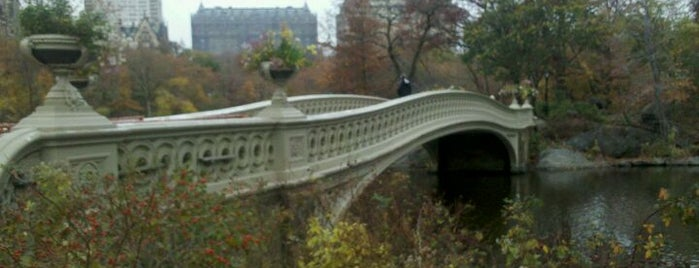 Bow Bridge is one of Park Highlights of NYC.