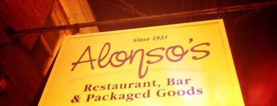 Alonso's is one of Baltimore Burger Nom.