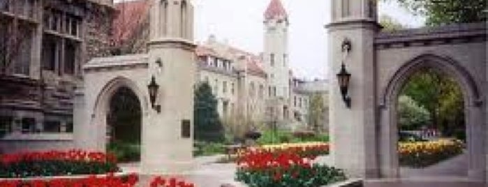 Indiana University Bloomington is one of IU Badge.
