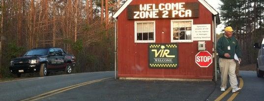 Virginia International Raceway is one of Racetracks.
