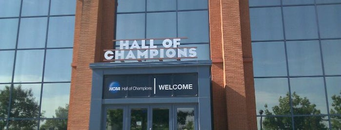 NCAA Hall of Champions is one of The Best Places in Indianapolis - #VisitUs.