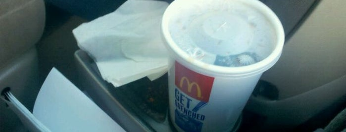 McDonald's is one of My food list....