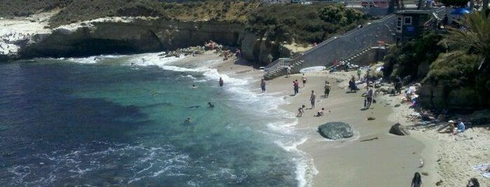 La Jolla Cove is one of San Diego's 59-Mile Scenic Drive.