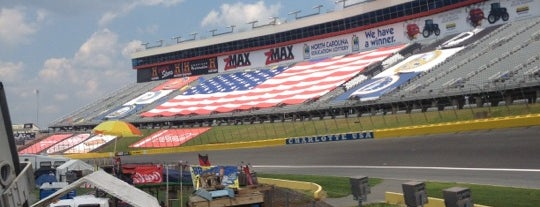 Charlotte Motor Speedway is one of Favorite places.