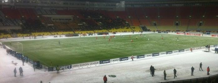 Luzhniki Stadium is one of Sports Arena's.
