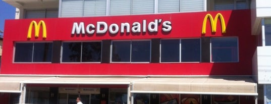 McDonald's is one of South-West of Turkey.