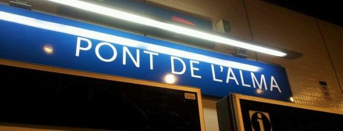 RER Pont de l'Alma [C] is one of Gare.