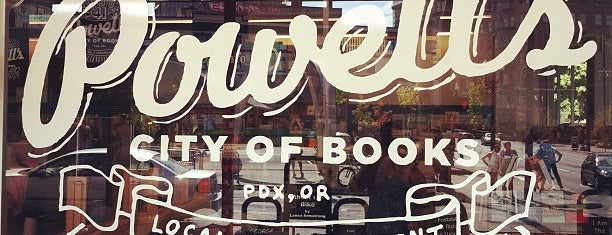 Powell's City of Books is one of PDX To-Do.