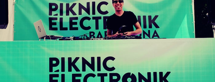 Piknic Electronik is one of To do's in Barcelona / Experiencias.