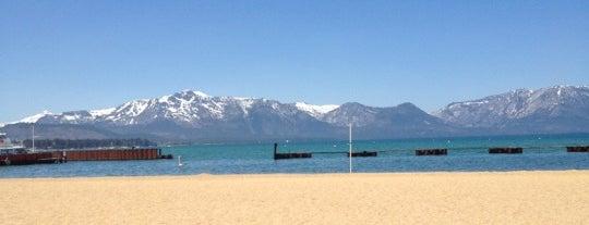 Lakeside Beach is one of South Lake Tahoe.