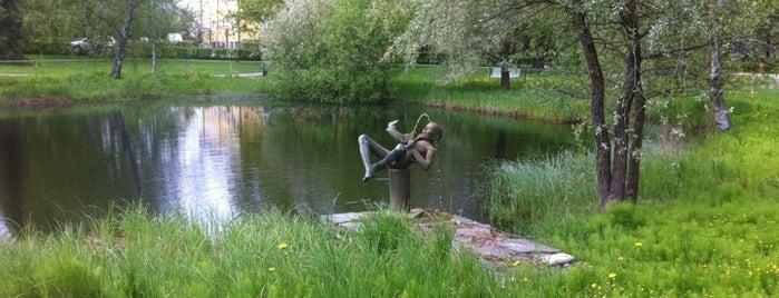 Viinikanpuisto is one of Harrasteet, puistot & muut mestat.