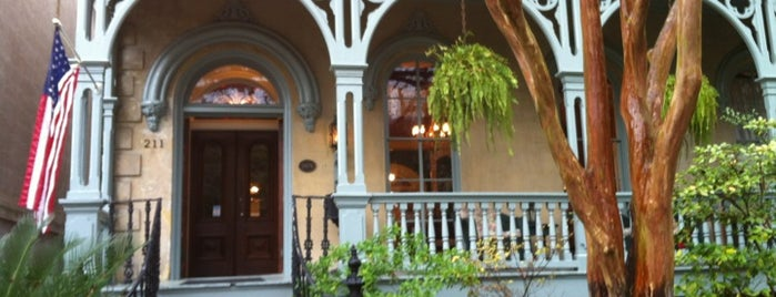 Dresser Palmer House is one of Gay-Friendly B&B's and Inns in Savannah, GA.